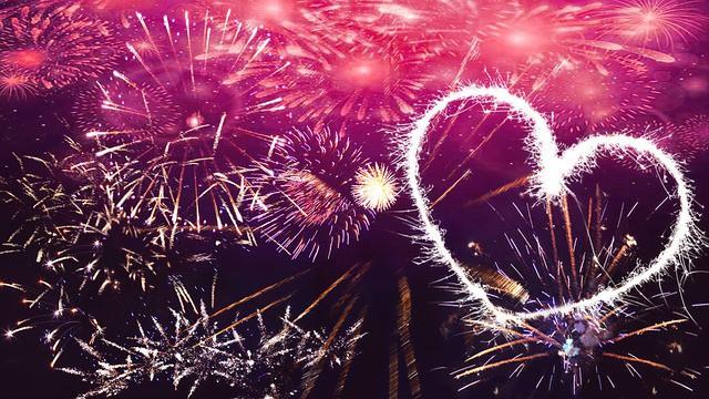 new year fireworks celebrating