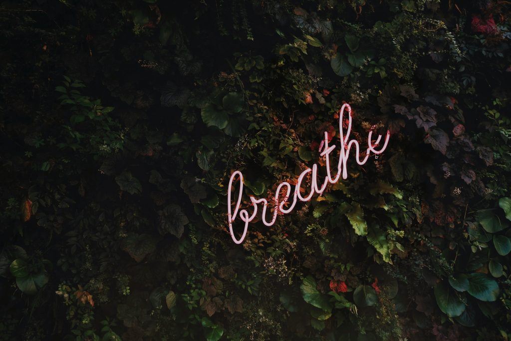 breathe to manage your stress